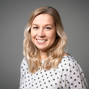 Bild på Svenska Yles innehållschef Anna Forth.
