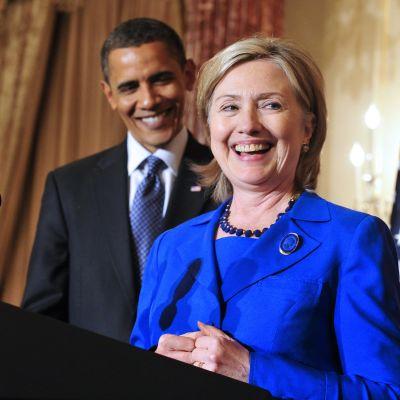 Presidenttiehdokas Hillary Clinton