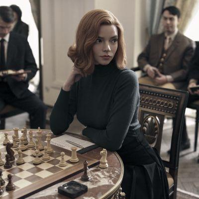 Musta kuningatar, Queen's Gambit, Netflix, minisarja