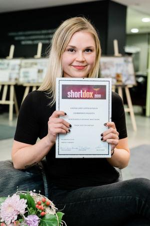 Shortdox 2019 voittaja Suvi Tuuli Kataja