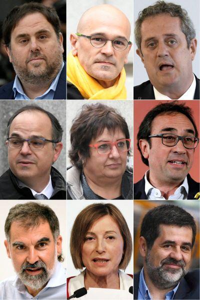Katalanska separatistledare