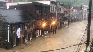 Översvämning i Ellicott City.