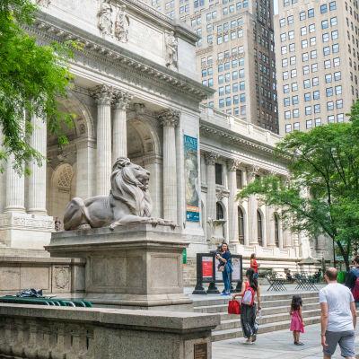 New York Public Libraryn päärakennus