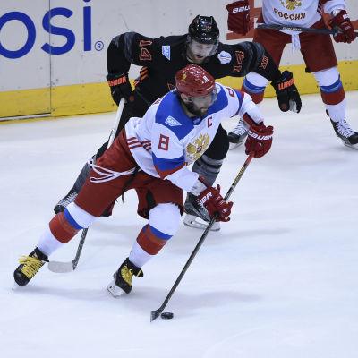 Aleksandr Ovetjkin och Ryssland slog Nordamerikans U23-lag i World Cup.