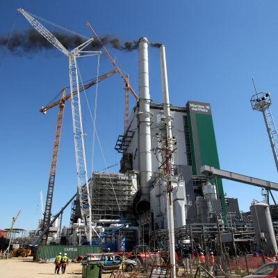 Stoa Ensos masafabrik i Uruguay.
