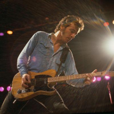 Bruce Springsteen lavalla vuonna 1980