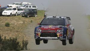 Sebastian Loeb i VM-rallyt i Portugal