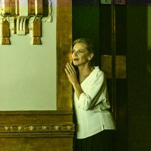 Ylva Ekblad i Maria Stuart på Dramaten hösten 2015.