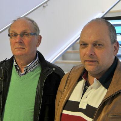 Fred Berg och Bengt Norrvik