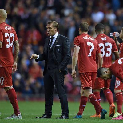Brendan Rodgers och Liverpool segade sig vidare.