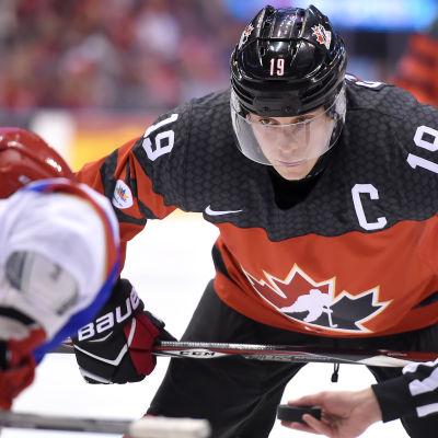 Kanadas hockeyjuniorer besegrade Rysslands hockeyjuniorer.