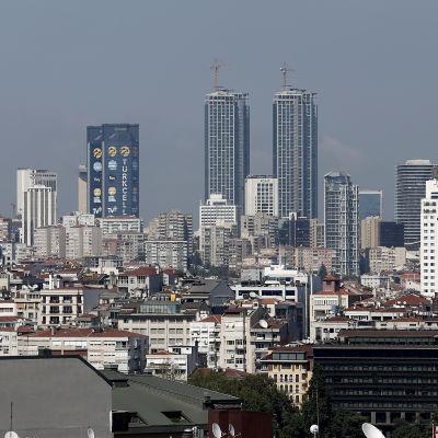 Finansdistriktet i Istanbul