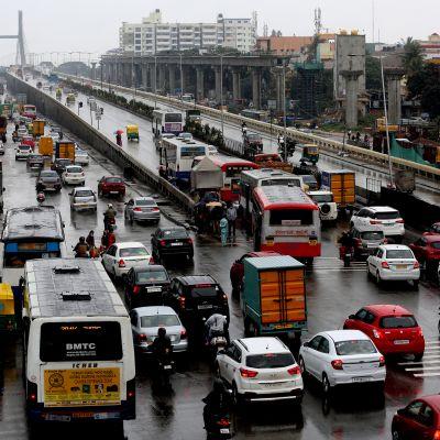 Bangalore Intia liikenne