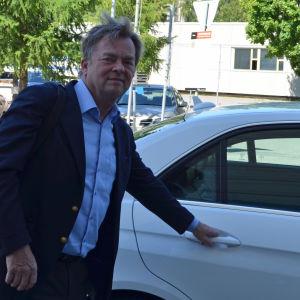 Ole Oftedal är vd för Cabonline som vill etablera sig i Finland, om taxiverksamheten avregleras.