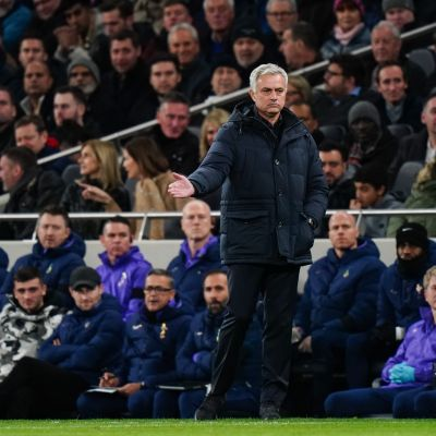 José Mourinho oli pettynyt mies.