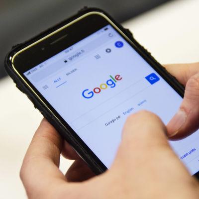 En mobiltelefon