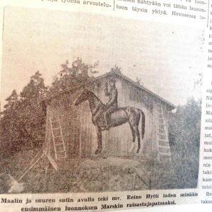 Kuva Etelä-Saimaa -lehdestä