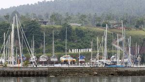 Kjartan Sekkinstad, två kanadensare och en filippinsk kvinna kidnappades från den här semesteranläggningen i september 2015.
