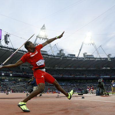 Keshorn Walcott Lontoon olympialaisissa