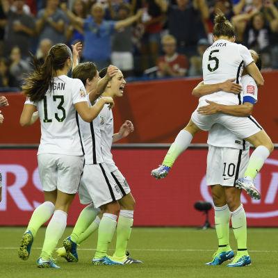 USA vann över Tyskland i VM-semifinalen
