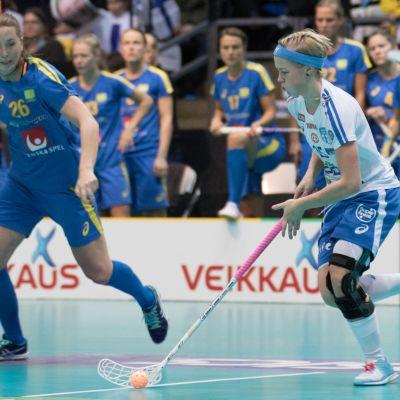 Alisa Pöllänen MM-finaalissa 2015.