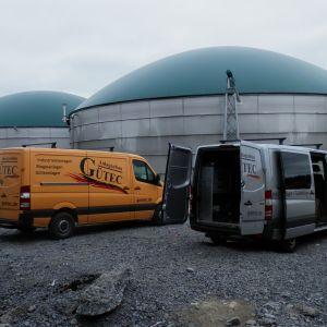 Rötningssilona vid Jeppo Biogas Ab