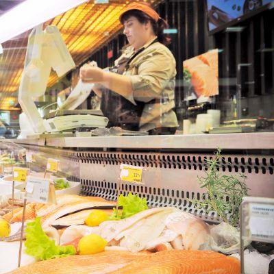 Tallinnalaisen Selver-kauppaketjun kalanmyynti on laskenut syksyn aikana useita prosentteja.