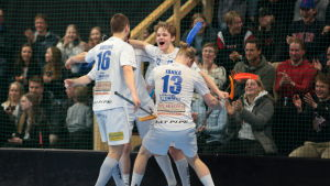 Oliver Sillanpää gjorde mål i den avgörande kvalmatchen mot Karhut.