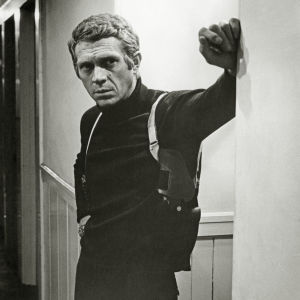 Steve McQueen elokuvassa Bullitt (1968). Kuva dokumentista Olen Steve McQueen