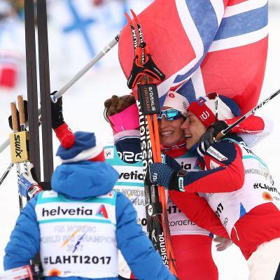 Norge firar stafettguld.