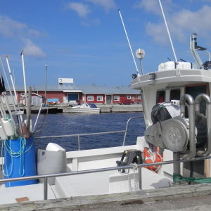 Ådö fiskehamn i Jakobstad