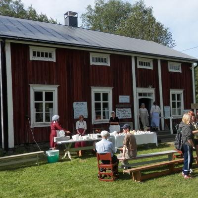 Tolvmansgården vid Torgare i Kronoby