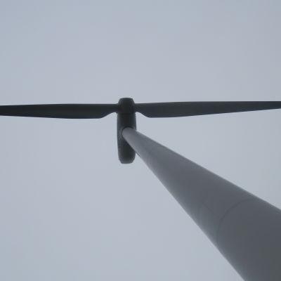 Vindkraftverket i Fränsviken i Larsmo