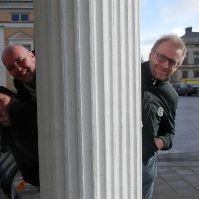 Terrazzo hörnet i Jakobstad (Camilla och Rolf  Lillkaas och Kristian Forsman)