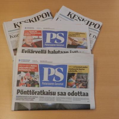 Pietarsaaren Sanomat skall säljas till Keskipohjanmaa koncernen