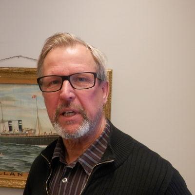 Museidirektör Guy Björklund i Jakobstad