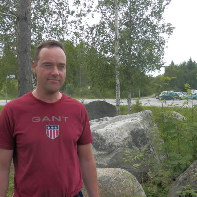 Deltidsfiskaren Leif Semskar från Larsmo