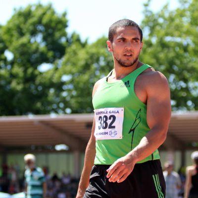 Pascal Mancini är sprinterlöpare.
