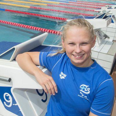 Laura Lahtinen yllättyi uimastaan SE-ajasta 200 metrin rintauinnissa.