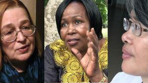 Naiset Kiinasta, Venäjältä ja Tansaniasta kertovat, miten maailman ja naisten aseman muutokset näkyvät arjessa ja unelmissa.