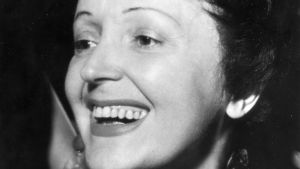 Édith Piaf. Arkistokuva.