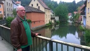 Ewald Kutzop i sin nuvarande hemstad Velden