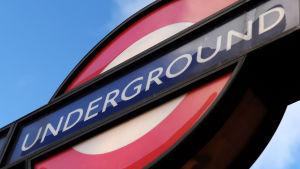 Tunnelbanan i London.