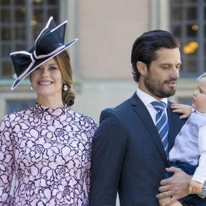 Prins Carl Philip med familj.