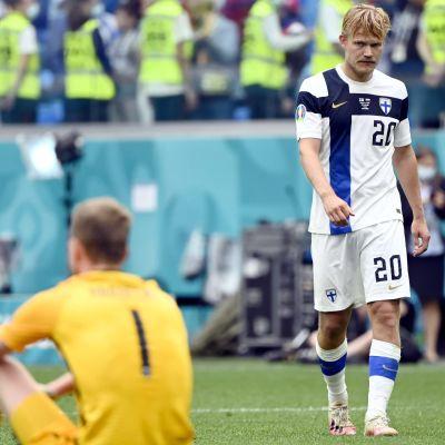 Finland deppar efter förlust i EM.