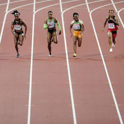 Damernas 100-metersfinal, VM 2017.