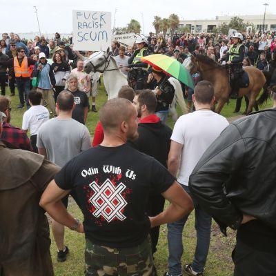 Mielenosoitus Melbournessa