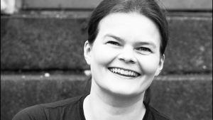 Silja Sahlgren-Fodstad poserar för Filmmagasinet
