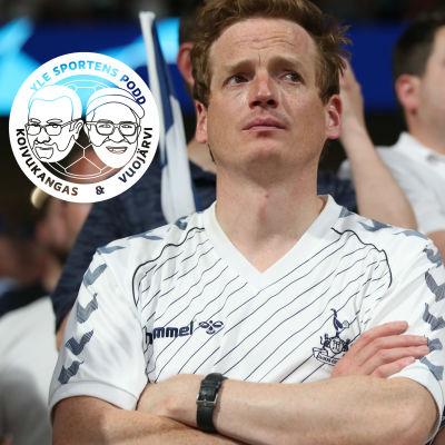Ledsna Tottenham-fans efter Champions League-finalen.