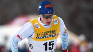 Matti Heikkinen i Tour de Ski 2017.